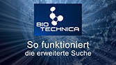 Biotechnica, Akquise - Screencast mit Reflektion, für Newsletter
