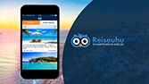 Reiseuhu, Office - App-Video mit Close-Up, für Sales