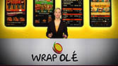 Wrap Olé Franchise, Office - Website-Moderation mit ASA, für Presentation