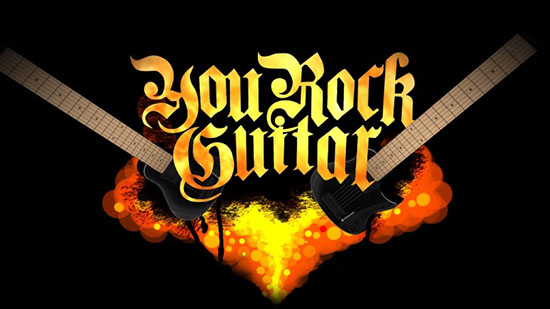 You Rock Guitar, Definition - Voice-Over mit Streaming, für YouTube
